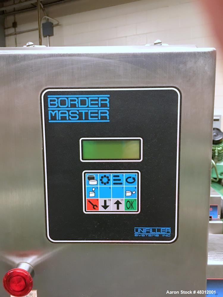 Used-Unifiller Systems Cake System Border Master Depositor Filler Enrober.