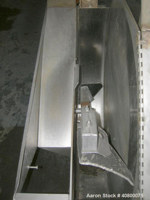 Used- Vanmark Corporation Hydrolift/Destoner, Model 02005-0044, Series 2000, 304stainless steel. Approximate capacity up to ...