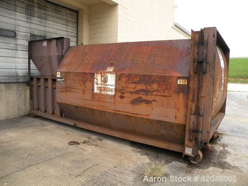 Used-Marathon RamJet Waste Compactor, Model RJ250SC, approximate 30 yard container, serial# 76893.