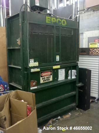 """Used- McClain Model E-11. EPCO 60"""" Cardboard Baler E-11."""