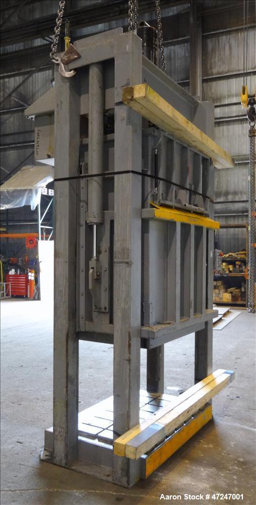 Used- Vertical Baler, Carbon Steel.