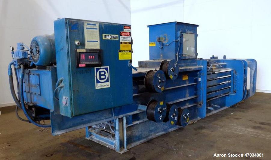 Used- BaleMaster Horizontal Auto Tie Baler, Model AT-1-40,Q.2.2, Series 4000, Ca