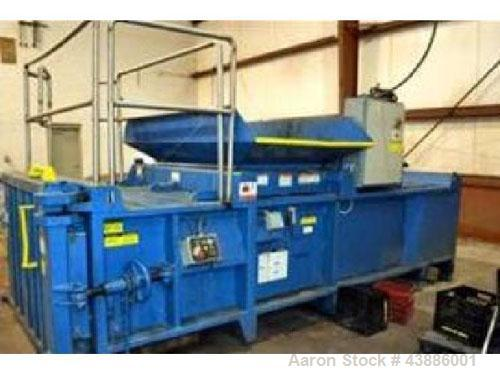 "Used-Excel Model EX62 Closed Door Baler.  Compact design, base size 60"" wide x 48"" long x 30"" high (1524 mm wide x 1219 mm l..."