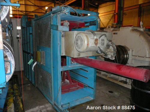 """USED: KMF 60"""" wide vertical baler, model HL60R. Includes a 10 hp hydraulic power pack. Built 1990."""