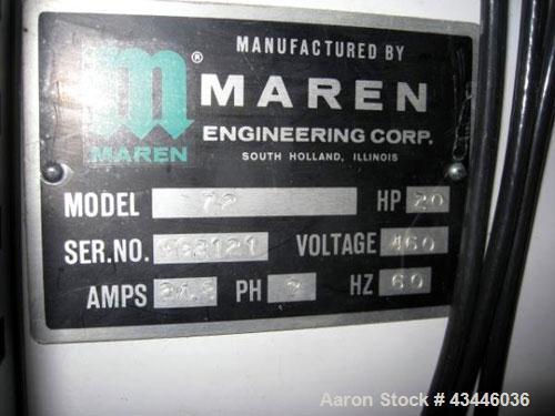 Used- Maren Baler, Model 72.