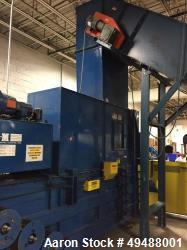 "Used- C&M 5030 BAT37S Horizontal Baler. 48"" Infeed conveyor, feed opening: app 50"" x 30"". Motor: 30hp voltage: 460V. Cylinde..."