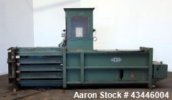 "Used- Carbon Steel Lake Engineering Horizontal Baler, Model 60""A-30,"