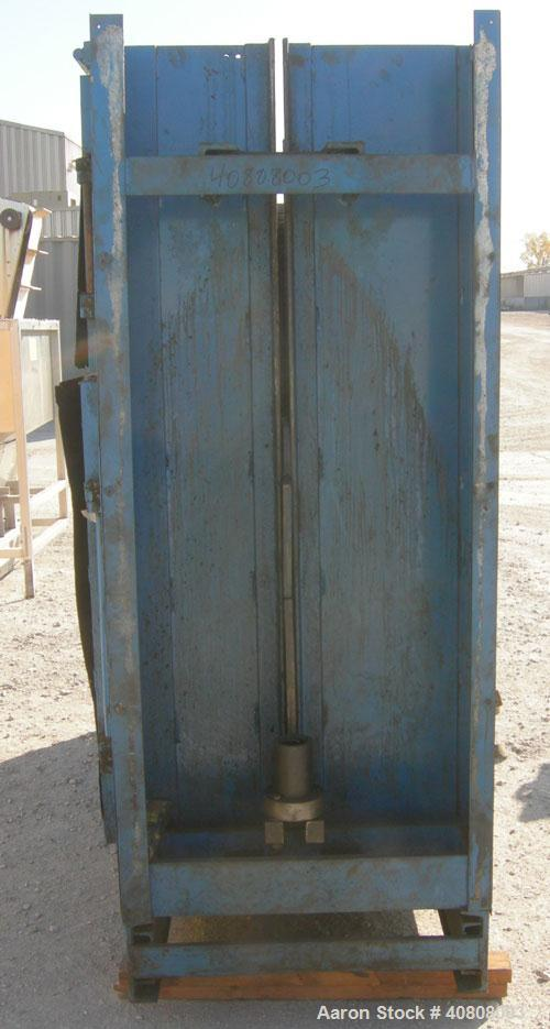 "Used- Ann Arbor Baler Company Vertical Baler, model 60, carbon steel. Approximate bale size 60"" wide x 30"" long x 48"" tall. ..."