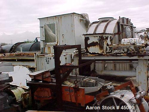 Used- Carbon Steel RMMS Compactor/ Baler, Model XD3042630R