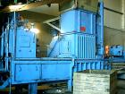 Used- BOA Recycling Equipment Automatic Baler, approximate 80 tonne force. 2 x 35 kw motors. Four wire. Every day use.