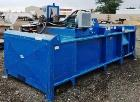 "Used- Excel EX62 Horizontal Baler. 20 HP / 460 volt, twin 6"" cross-cylinders. Standard hopper 60"" x 38"" x 40"" bale size. Ful..."