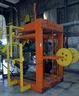 Used- Roeqco Rolling Equipment Company Hydraulic Powered Cardboard Baler, Model HP115-72-252. Single ram, approximate 60
