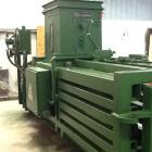 Used- Maren Closed Chamber Automatic High Density Baler, Model 122. 15 ft long x 49 in. wide x 53 in. high Feed hopper 30