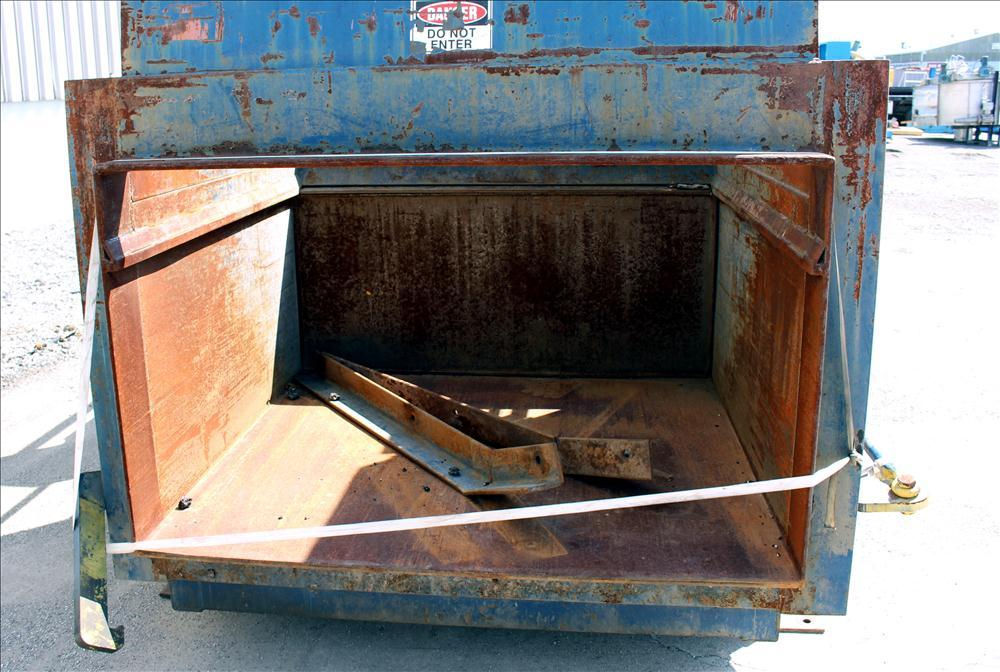 Used- Sebright Products Trash Compactor, Model 5060