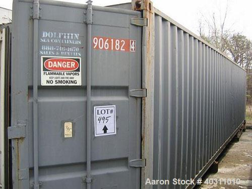 Used 40' Container