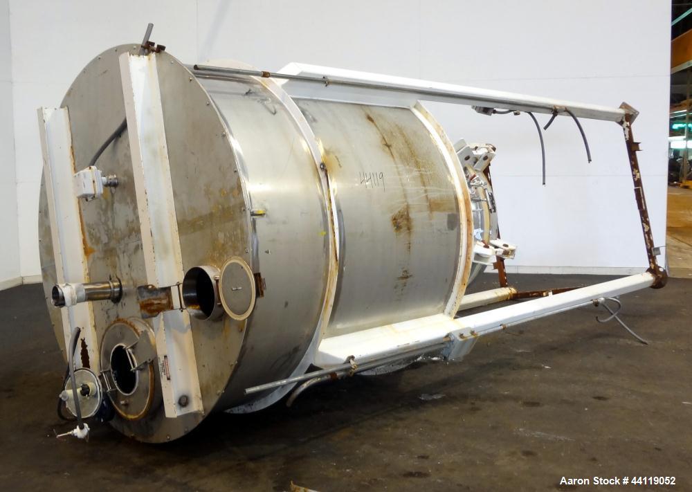 Used- Stainless Steel Bin/Hopper