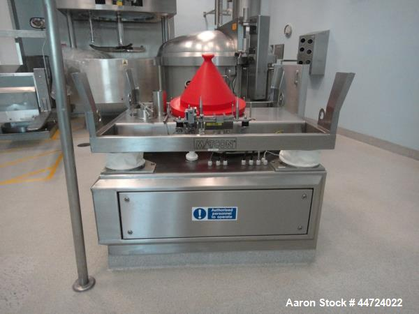 Used- Stainless Steel Matcon, Model IP00 - 1200 -0001 -0000 - 0000