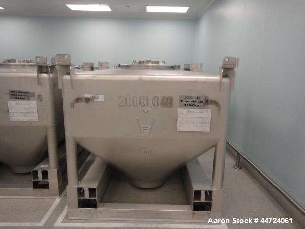 Used- Stainless Steel GEA Buck IBC