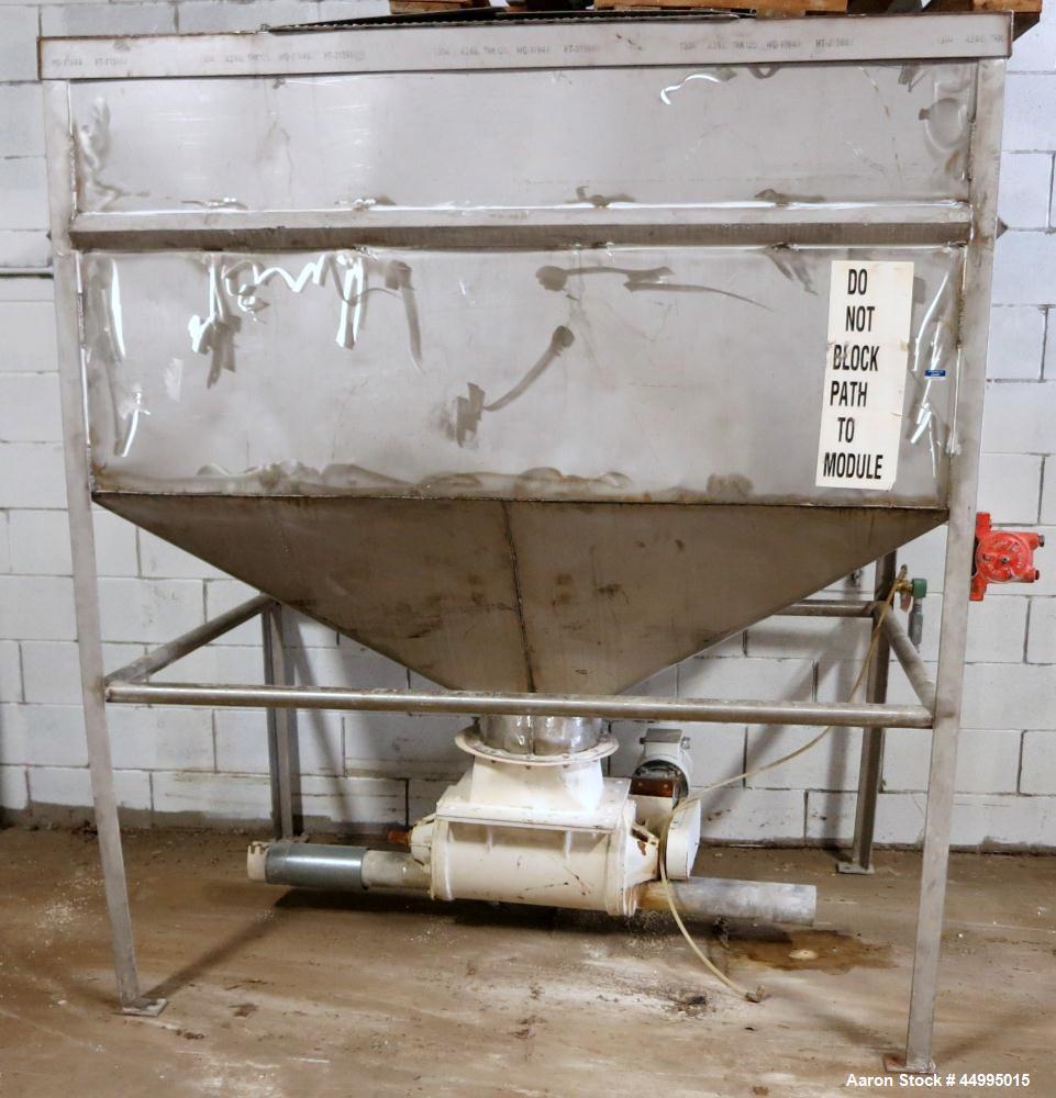 Used-Stainless Steel Hopper