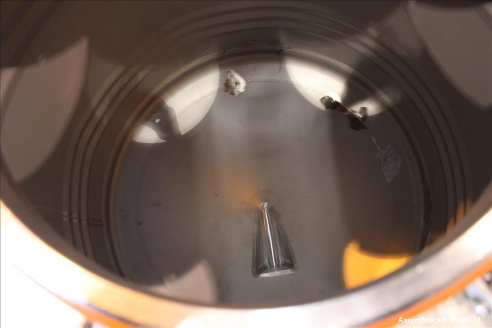 Used- Automationstechnik Tote Bin, 800 Liter, 28 Cubic Feet, 304 Stainless Steel