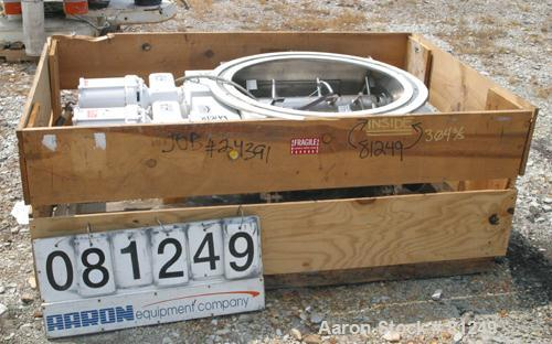 "Unused- Acrison Multiple Auger/Agitator Bin Discharger, Model BD-2.5 Round, 304 Stainless Steel. (2) 4-1/2"" diameter shafts ..."