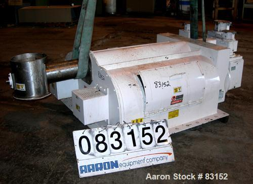 Used- Acrison Multiple Auger/Agitator Bin Discharger Feeder, Model BDF4-R/3. Approximately .58 to 3400 cubic feet per hour f...