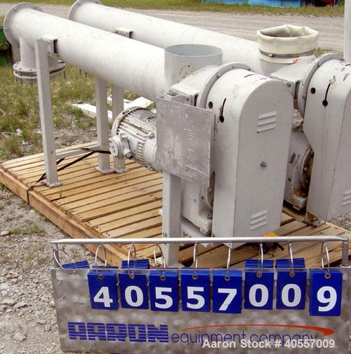 Used- Carbon Steel Azo Hopper