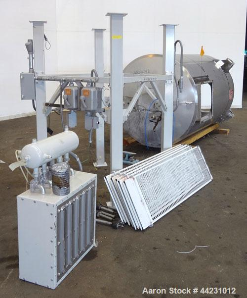 Used- Stainless Steel AZO Hopper