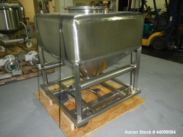 Used- Stainless Steel B&G Tote