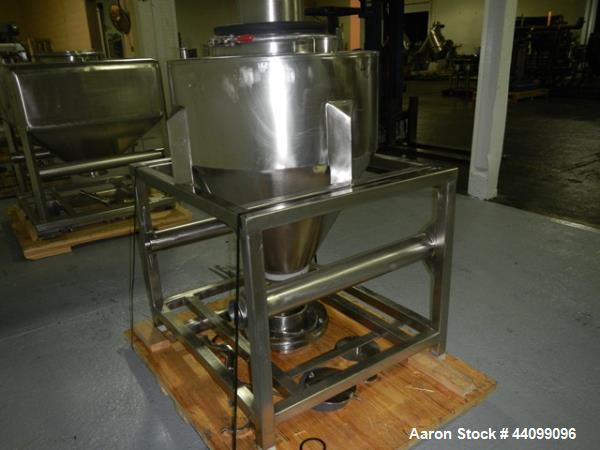 Used- Stainless Steel B&G Tote