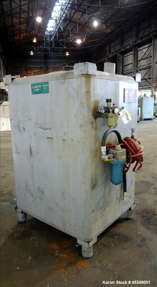 Used- Carbon Steel Clawson Tank Company Liquid Tote
