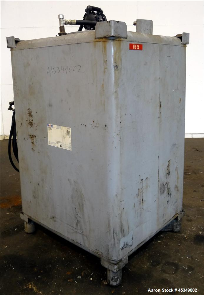 Used- Carbon Steel Clawson Tank Company Liquid Tote