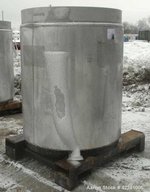 Used- Stainless Steel Fabricated Metals Inc Liqua-Bin Liquid Tote