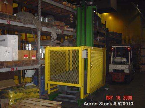 USED: Gecko model L01AA elevator/loader dumper. 300 lb max load. All stainless steel custom made.