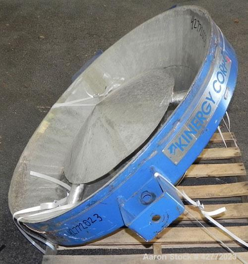 Used- Stainless Steel Kinergy Vibrating Bin Discharger, Model KBA-4-HD
