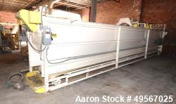 Used-Storeveyor, 33' Long, Carbon steel. Storage and conveying unit.