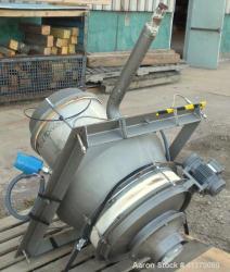 Used- Sarbon Steel Azo Live Bottom Bin Discharger, Model VB-600