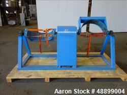 Used- Morse Drum Dumper, Model 2-300-3-460, 800 pounds full capacity