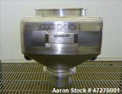 Used- Servolift Intermediate Bulk Container, Approximately 1.7 Cubic Feet (50 li