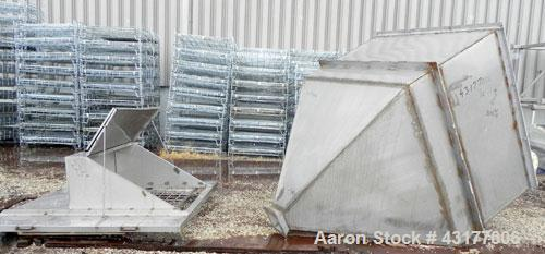 Used- Stainless Steel Bin-Hopper
