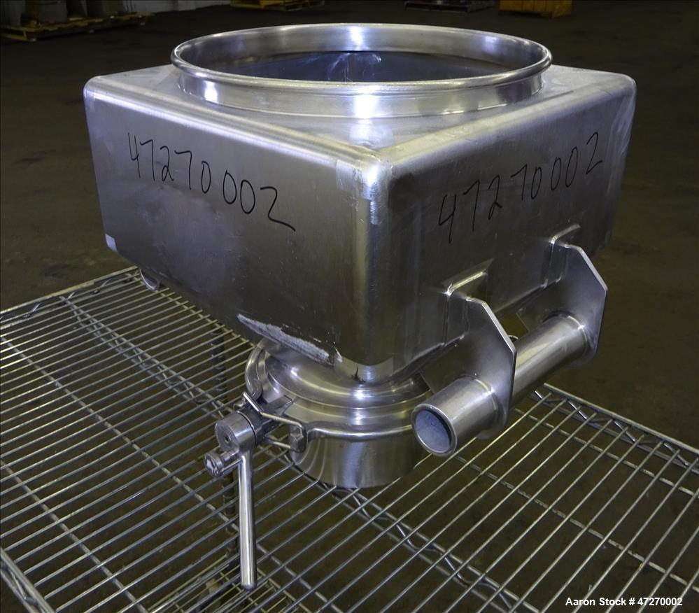 Used- Servolift Intermediate Bulk Container, Approximately 1 Cubic Feet (30 Lite