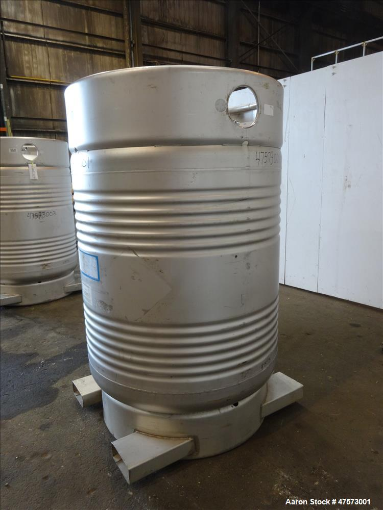 Used- Sharpsville Container Liquid Tote, 48 Cubic Feet