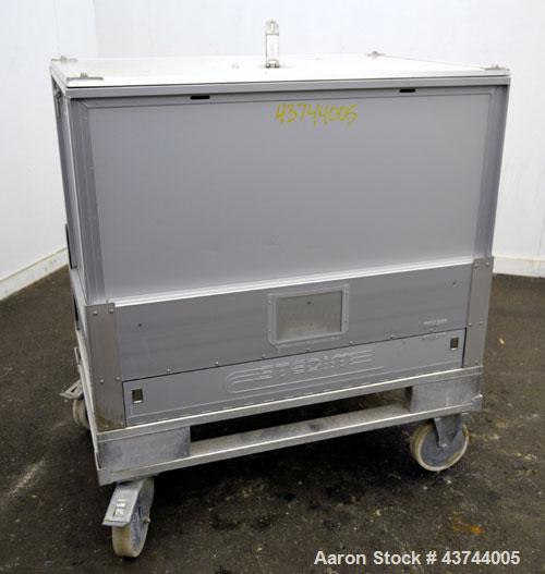 Used- Aluminum Stedim Palletank For Shipping, Model PLT 500 ALU