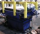 Used- Macawber Tote Handler & Tote Dumper, Carbon/Stainless Steel. Consists of: (1) Macawber Engineering loading hopper, sta...