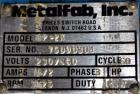 Used- Metalfab Bin Activator / Bin Discharger, Model BA-5, 304 Stainless Steel.  Approximately 59-1/4