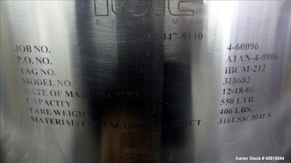 Unused Tote Systems Premier Line Powder Bin, Model 318682.