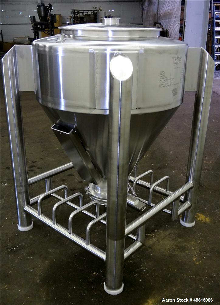 Unused Tote Systems Premier Line Powder Bin, Model 318683.