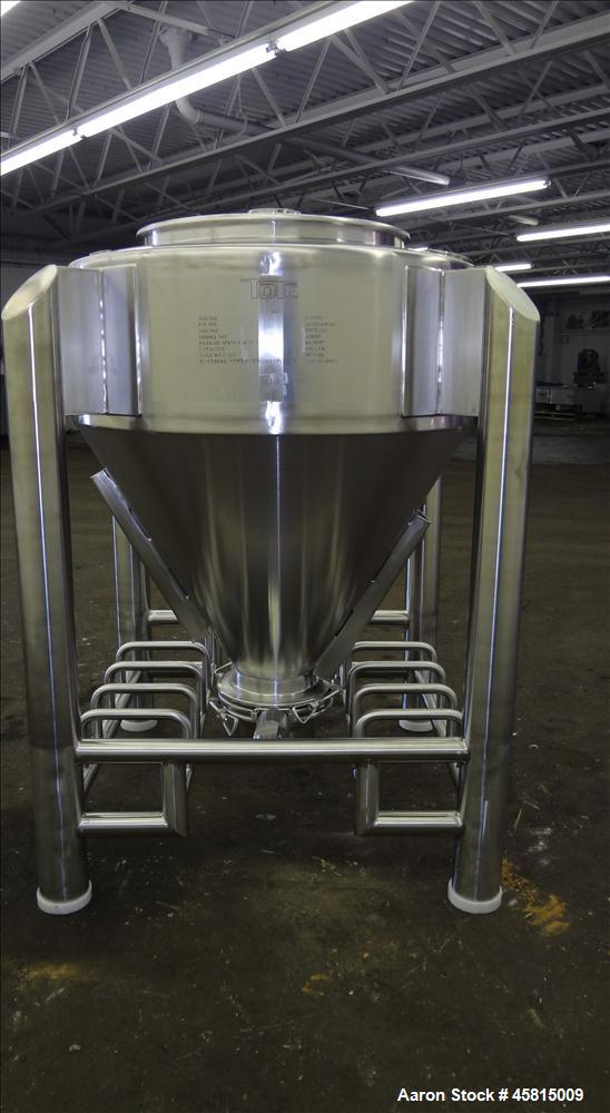 Unused Tote Systems Premier Line Powder Bin, Model 318683.