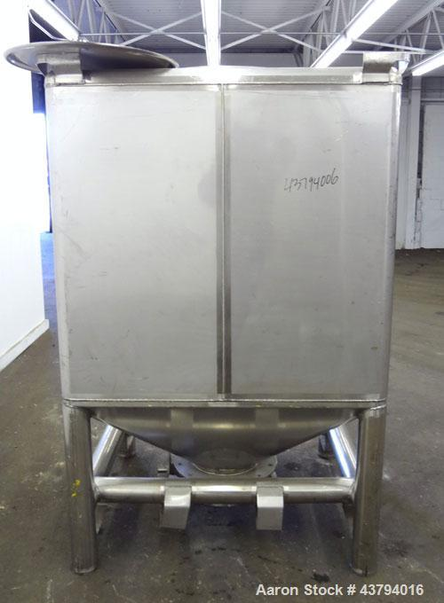 Used- Stainless Steel Custom Metalcraft TransStore Transportable Powder Tote, Model 512701