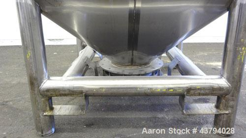 Used- Stainless Steel Custom Metalcraft TransStore Transportable Powder Tote, Model 512712